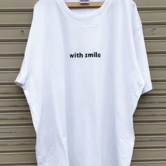 ビッグシルエットTシャツ☆with smile☆