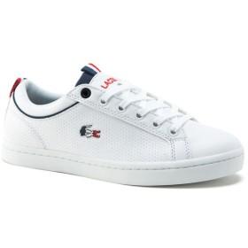 LACOSTE - <レディース>ストレートセット SP 317 1 QSP 001 ホワイト STRAIGHTSET SP 317 1 QSP white ラコステ