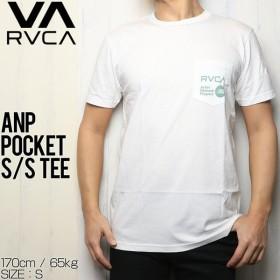 [クリックポスト対応] RVCA ルーカ ANP POCKET S/S TEE ポケット付き半袖Tシャツ M412SRAN
