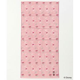 Disney ハイドロ銀チタン(R)オノマトメ バスタオル ピンク 【三越・伊勢丹/公式】