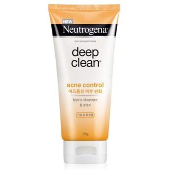 【ブラックヘッド、化粧品の企画展ck115]ニュートロジーナディープクリーンアクネコントロールフォームクレンザー皮脂除去
