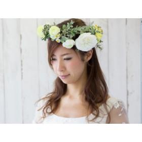 花かんむり(ホワイトグリーン)