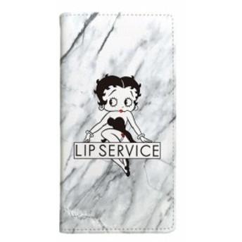 iPhone8 iPhone7 ケース LIP SERVICE ベティ・ブープ ベティー ブープ ベティちゃん iPhone6s iPhone6 手帳型ケース MARBLE 【Gizm】