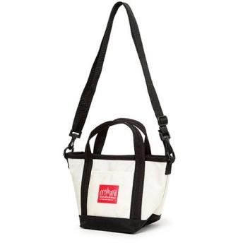 マンハッタン ポーテージ Mini Zipper Tote Bag ユニセックス Ivory XS 【Manhattan Portage】