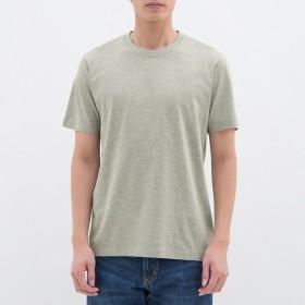 (GU)クルーネックT(半袖) GRAY XL