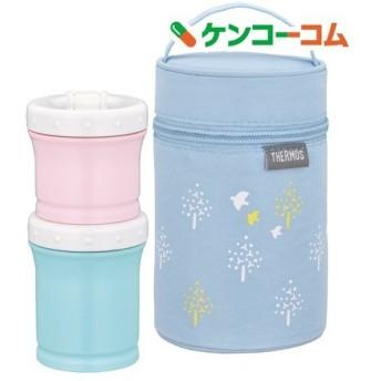 サーモス 保冷ポーチ付き離乳食ケース 0.24L ブルー NPE-240 BL ( 1セット )/ サーモス(THERMOS)