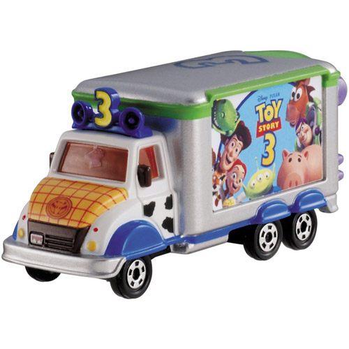 TOMICA小車-迪士尼夢幻車隊-玩具總動員宣傳車-玄衣美舖