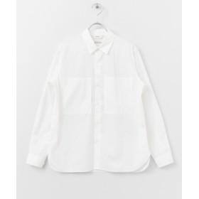 【40%OFF】 アーバンリサーチドアーズ UNIFY W pocket Shirts レディース WHITE one 【URBAN RESEARCH DOORS】 【セール開催中】