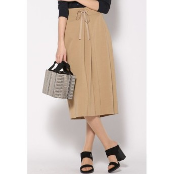 VICKY / 強撚レーヨンツイルタイトスカート