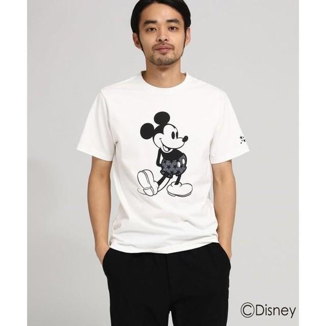 BASE STATION / ベースステーション 【WEB限定】 DISNEY ディズニー Tシャツ 星柄パンツ 半袖Tシャツ (ミッキーマウス)