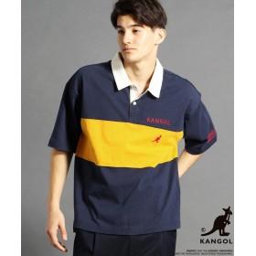 【30%OFF】 グランドパーク KANGOLコラボBIGポロシャツ メンズ 20イエロー 46(M) 【Grand PARK】 【セール開催中】