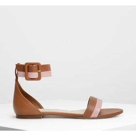 ダブルストラップ サンダル / Double Strap Sandals (Multi)