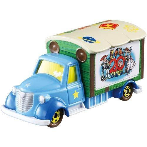 TOMICA小車-迪士尼夢幻車隊-玩具總動員20年宣傳車-玄衣美舖