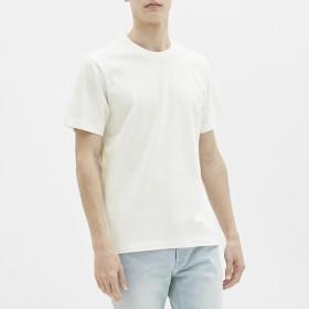 (GU)クルーネックT(半袖) WHITE L