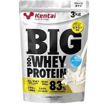BIG100%ホエイプロテイン プレーンタイプ3kg