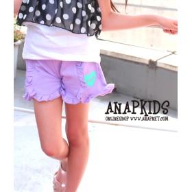 【セール開催中】ANAP KIDS(キッズ)フリルデザインショートパンツ