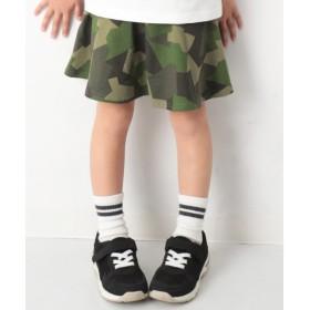 [マルイ] 子供服 スカッツ キッズ 韓国子供服 ポケット付き1分丈スカッツ 柄 女の子 ボトムス/デビロック(devirock)