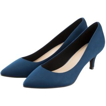 (GU)マシュマロポインテッドパンプス(旧モデル) BLUE 24.5cm