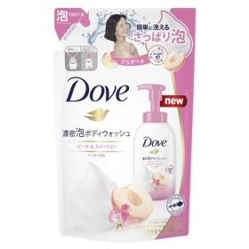 ダヴ 濃密泡ボディウォッシュ ピーチ&スイートピー つめかえ用 ( 350g )/ ダヴ(Dove)