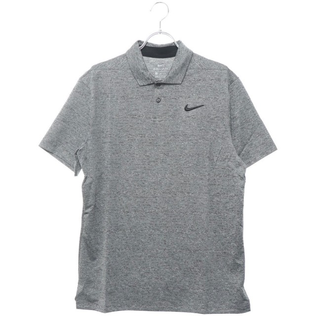ナイキゴルフ NIKE GOLF メンズ ゴルフ 半袖シャツ ナイキ DRI-FIT ヴェイパー ヘザー S/S ポロ AT8871011