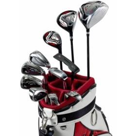 ワールドイーグル F-01αクロスモデル メンズ14点ゴルフクラブフルセット 右用 CBX003バッグ