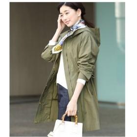 ROPE' / ロペ 【スプリングコート】【撥水加工】ミドル丈グログランマウンテンパーカー