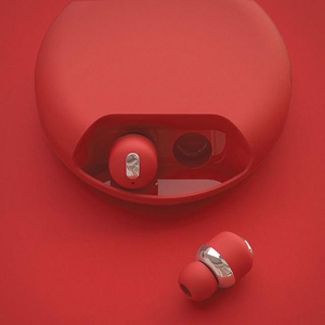 HANSMARE完全ワイヤレスイヤフォンAir TwinsレッドAT9995