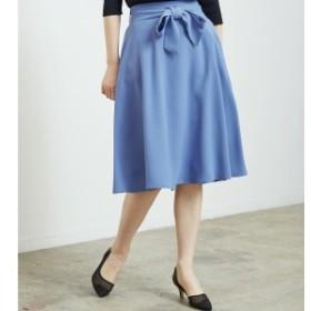 ロペピクニック(ROPE' PICNIC)/リボン付きフレアスカート