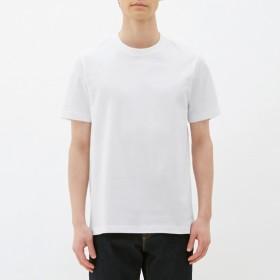(GU)クルーネックT(半袖) WHITE S