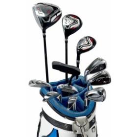 ワールドイーグル F-01αクロスモデル メンズ14点ゴルフクラブフルセット 左用 CBX005バッグ