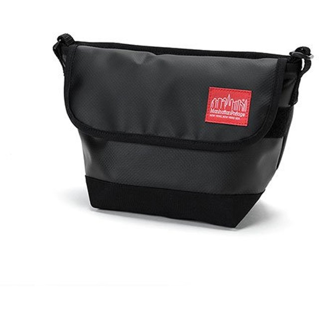 マンハッタン ポーテージ Matte Vinyl Casual Messnger Bag ユニセックス Black XS 【Manhattan Portage】