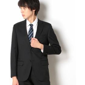 [マルイ]【セール】【WEB限定】【Dresspresso】スーツ+ソリッド+スタンダード+ブラック/ナノ・ユニバース(メンズ)(nano universe)