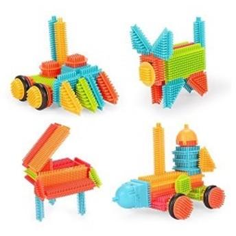 NextX ブロック 積み木 立体パズル アイディアパーツ DIYおもちゃ プラスチック 誕生日プレゼント (CW50)