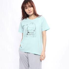 イグニオ IGNIO レディース 半袖Tシャツ グラフィックTシャツ(半袖) LアニマルPTアソートTSS