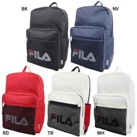 送料無料 18L フィラ メンズ レディース メッシュポケット リュック リュックサック デイパック バックパック バッグ 鞄 軽量 通勤 通学 大容量 ロゴ FL-0002