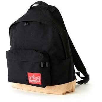 マンハッタン ポーテージ Suede Fabric Backpack ユニセックス Black M 【Manhattan Portage】