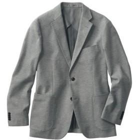 【メンズ】 ストレッチテーラードジャケット。多ポケット仕様&起毛素材が◎ - セシール ■カラー:グレー系 ■サイズ:3L,L