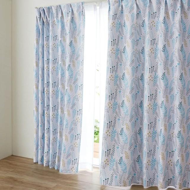 カーテン カーテン ミニラボ プリント遮光カーテン 約100×90 2枚 約100×110 2枚