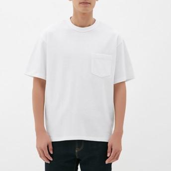 (GU)ヘビーウェイトビッグT(半袖) WHITE M