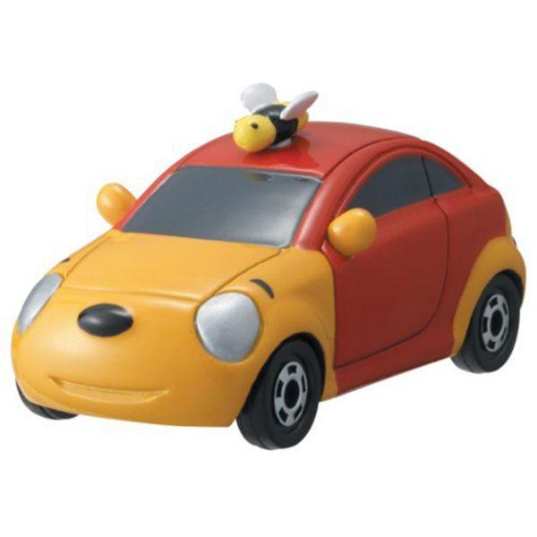 TOMICA小車-迪士尼夢幻車隊-小熊維尼10周年轎車-玄衣美舖