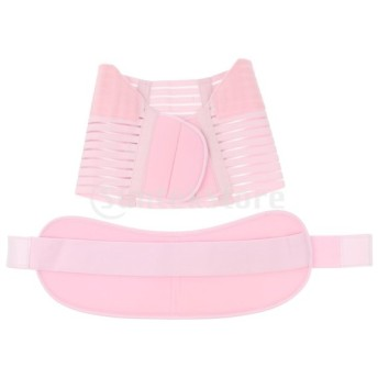 妊娠/産後マタニティベルト背中腹部サポートストラップ
