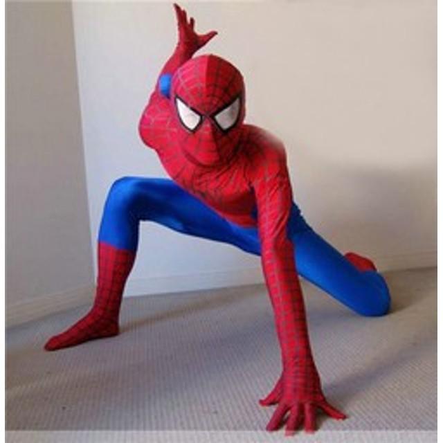 スパイダーマン 子供キッズ 大人 親子お揃い ペアルック 親子服 コスプレ 衣装 zhizhu1(zhizhu1)
