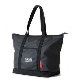 マンハッタン ポーテージ MP Logo Printed Cherry Hill Tote Bag ユニセックス Black/White L 【Manhattan Portage】
