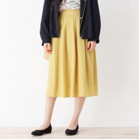[マルイ] Lスカート(【WEB限定サイズあり】タックフレアスカート)/グローブ(grove)