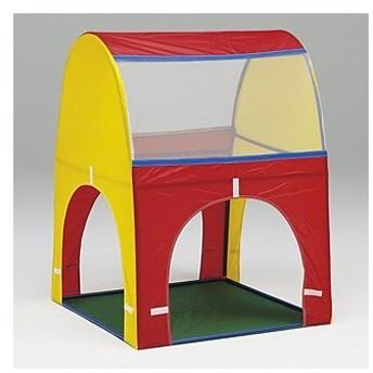 【法人限定】カラートンネル用ハウス 連結式 ナイロンハウス キッズ遊具 屋内遊具 幼児施設 幼稚園 教育施設 運動施設 キッズスペース プレイランド B3801
