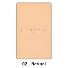 LUNASOL(ルナソル) グロウィングヴェールフィニッシュ(パウダー)<レフィル> 02(Natural)