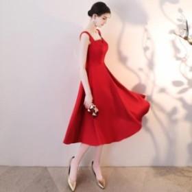 ホルターネックドレス パーティドレス ウエディング red ロング 舞台衣装 エレガント 撮影 結婚式 お呼ばれ 発表会 花嫁