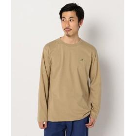 フレディアンドグロスター スニーカー刺繍ロングスリーブTシャツ メンズ ベージュ L 【FREDY & GLOSTER】