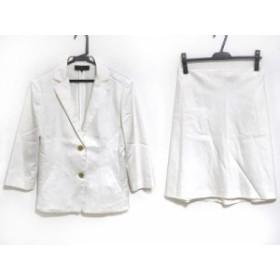 アンタイトル UNTITLED スカートスーツ サイズ2 M レディース アイボリー【中古】