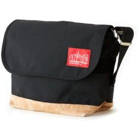 マンハッタン ポーテージ Suede Fabric Vintage Messenger Bag JR ユニセックス Black M 【Manhattan Portage】